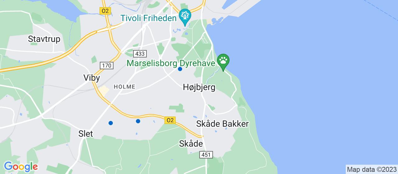 anlægsgartnerfirmaer i Højbjerg