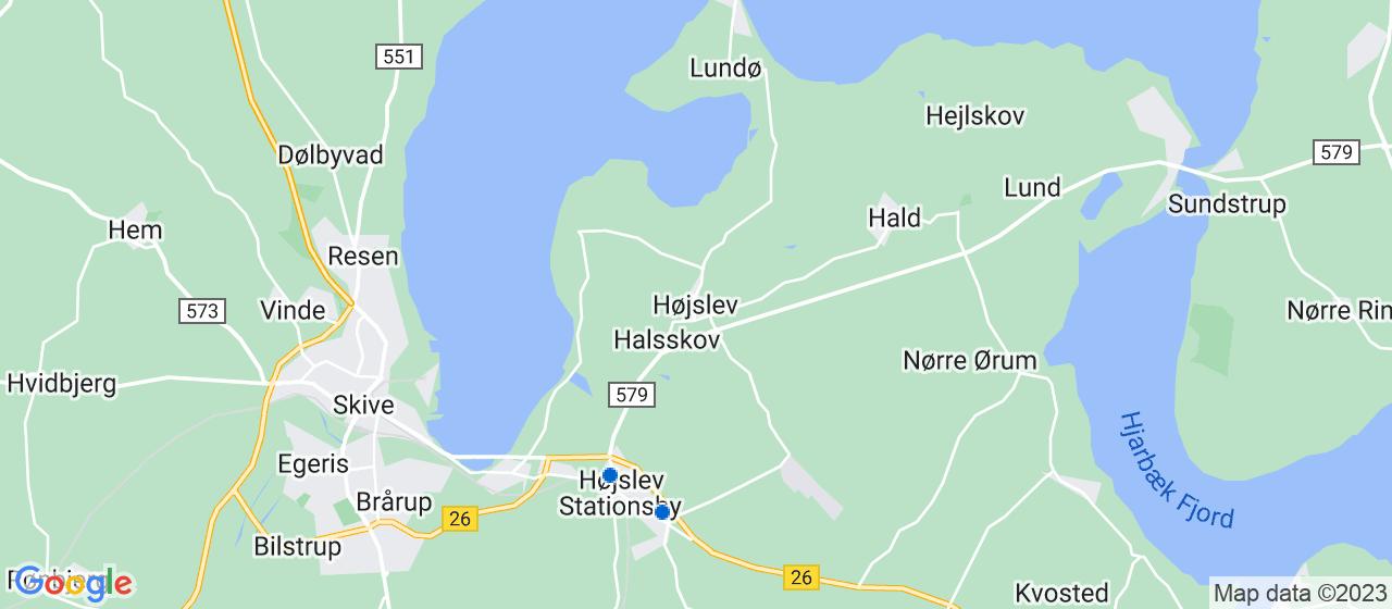 elektrikerfirmaer i Højslev