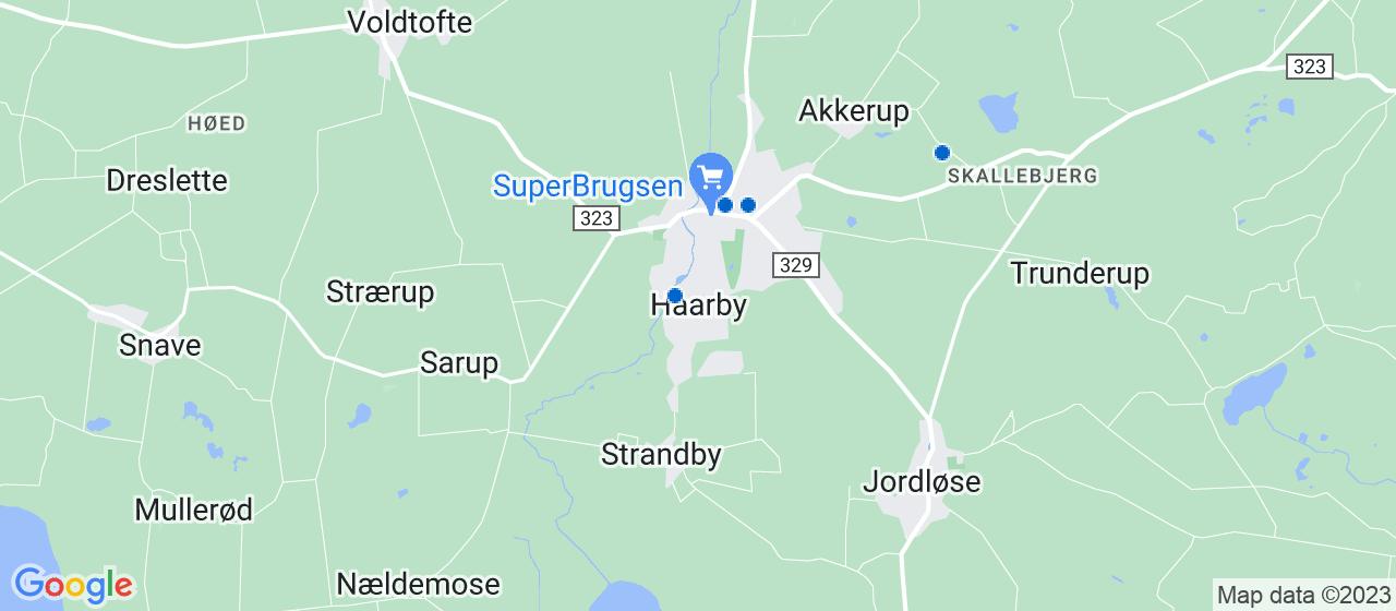 ejendomsmæglerfirmaer i Haarby