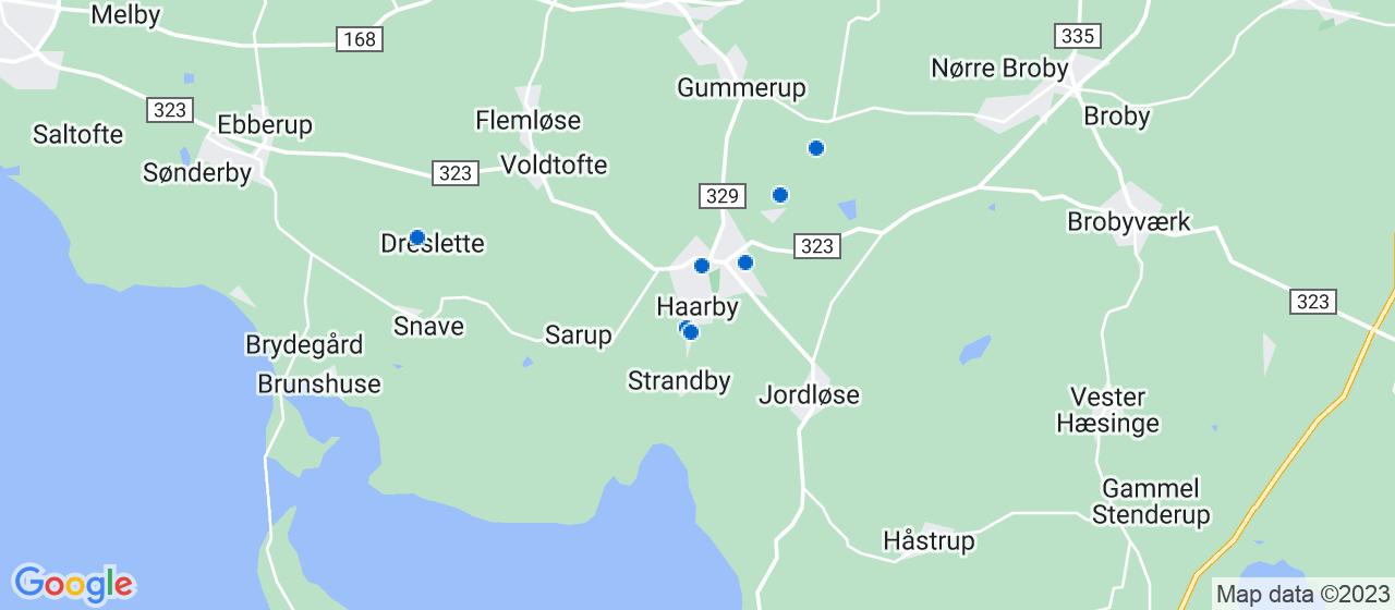 sandblæsning firmaer i Haarby