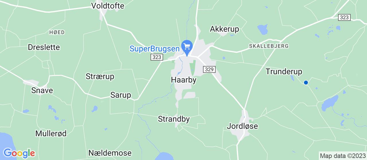 nedrivningsfirmaer i Haarby