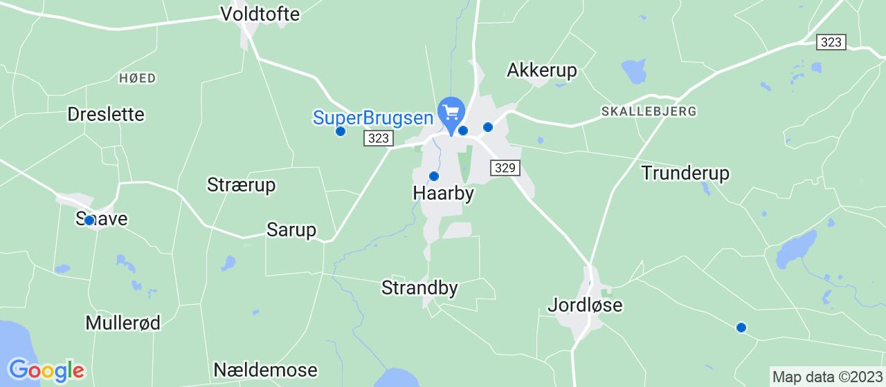 elektrikerfirmaer i Haarby