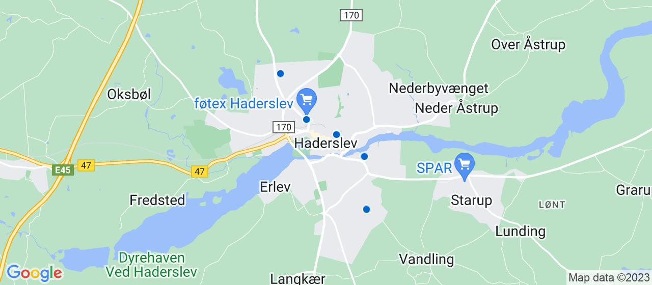 glarmesterfirmaer i Haderslev