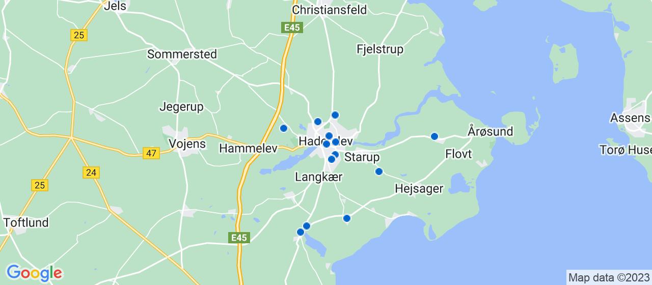 håndværkerfirmaer i Haderslev