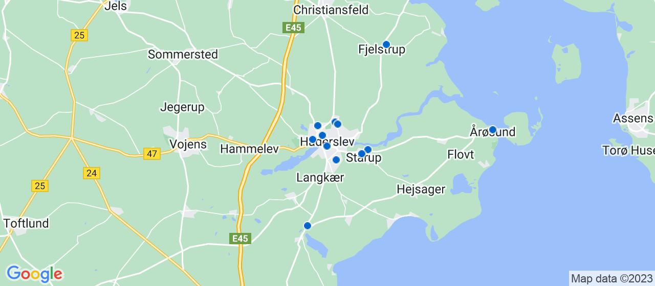 murerfirmaer i Haderslev