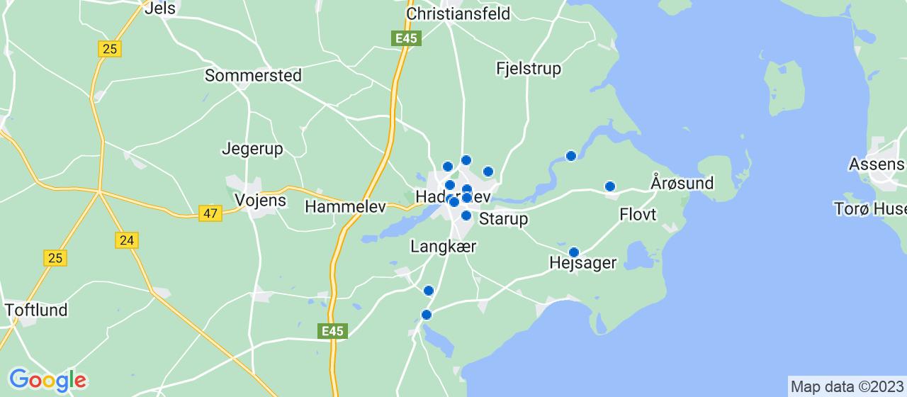 elektrikerfirmaer i Haderslev