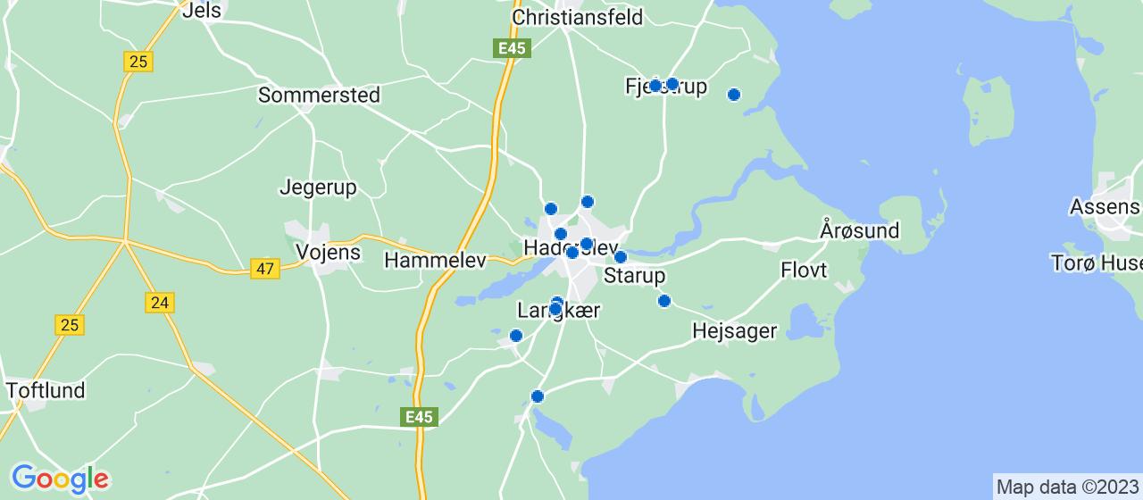 vvsfirmaer i Haderslev