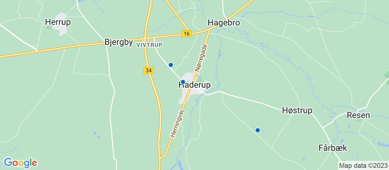 murerfirmaer i Haderup