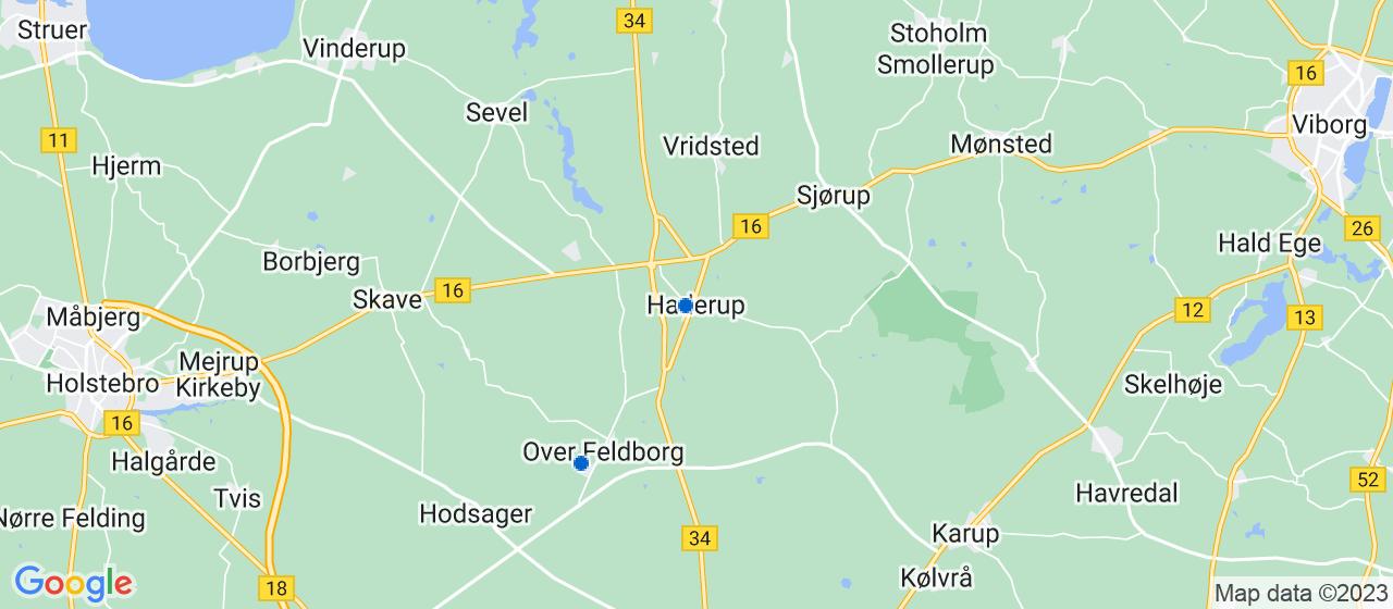 kloakfirmaer i Haderup