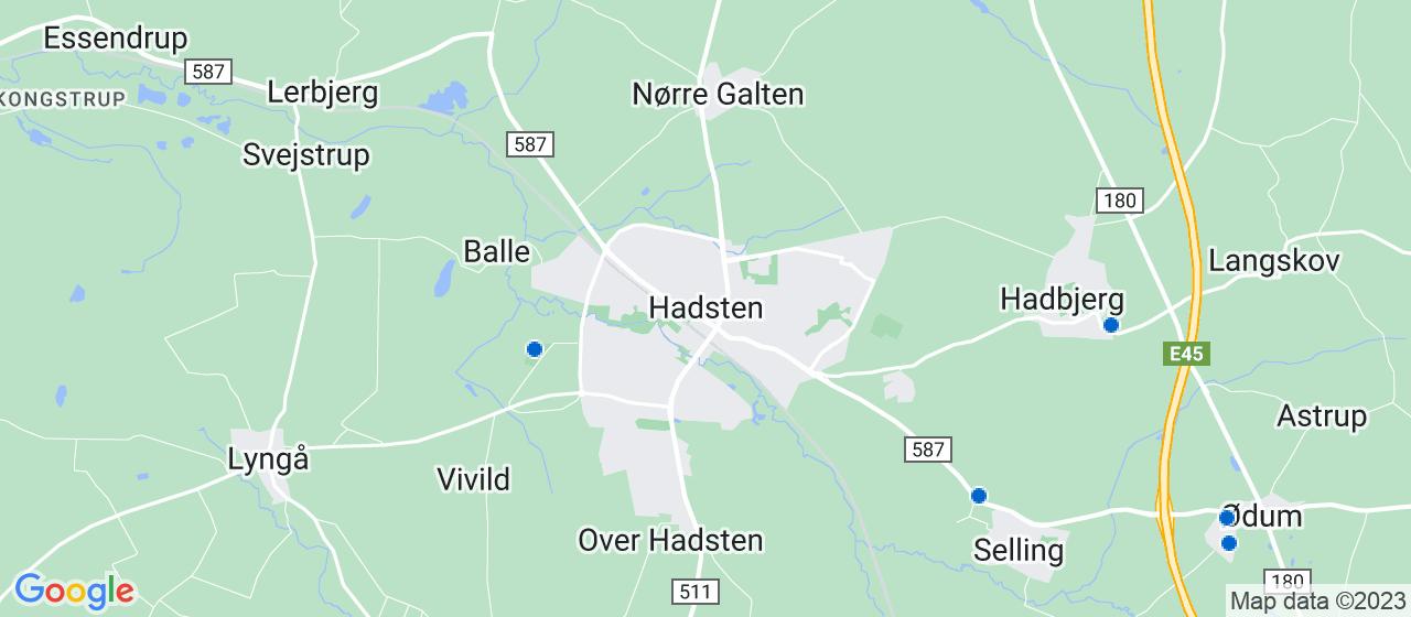 glarmesterfirmaer i Hadsten