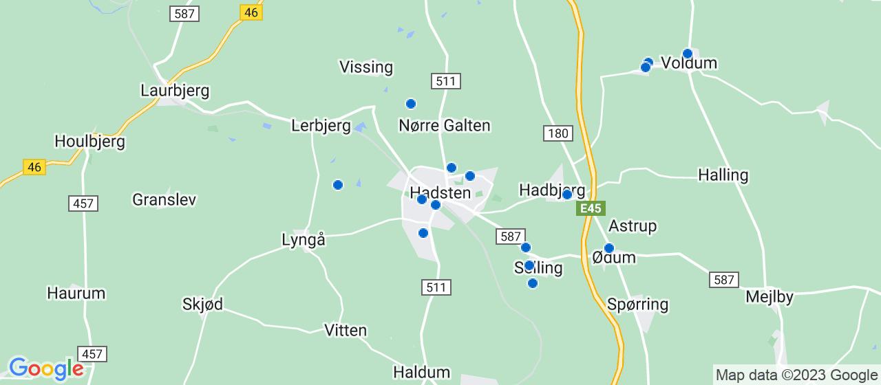 tømrerfirmaer i Hadsten