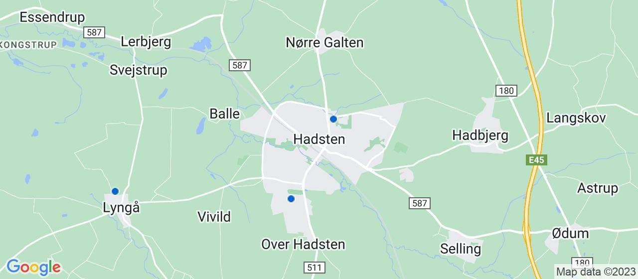 alarmselskaber i Hadsten