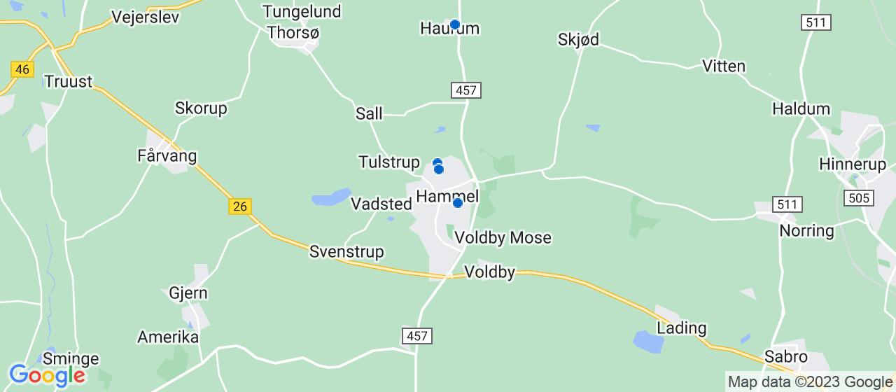 malerfirmaer i Hammel