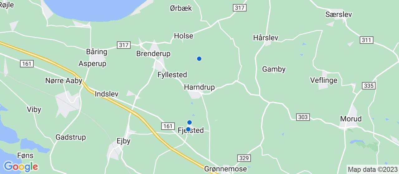 elektrikerfirmaer i Harndrup