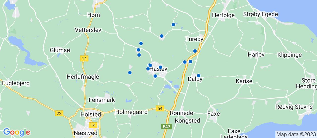 murerfirmaer i Haslev