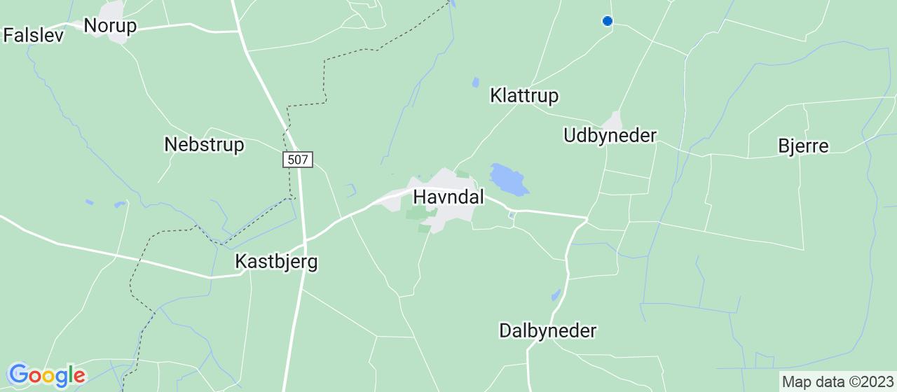 glarmesterfirmaer i Havndal
