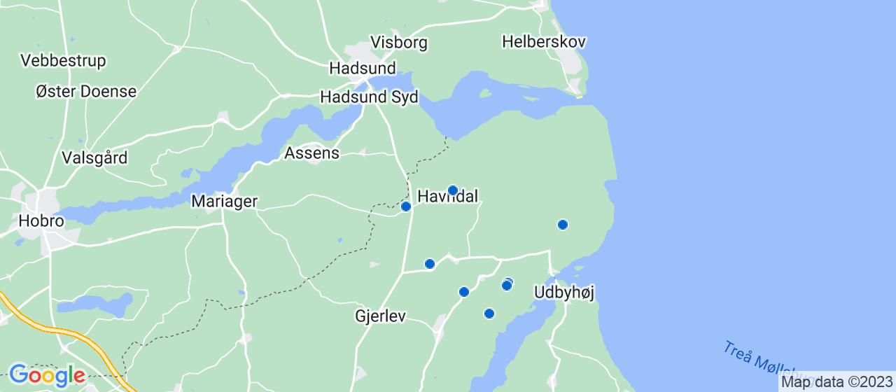 byggefirmaer i Havndal