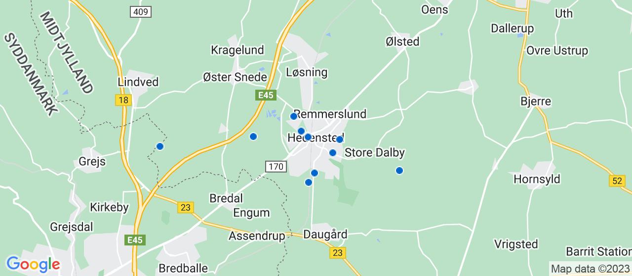 murerfirmaer i Hedensted