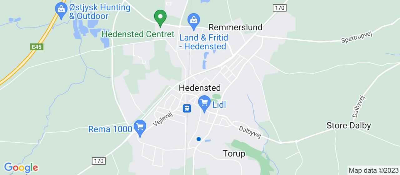 ejendomsservicefirmaer i Hedensted
