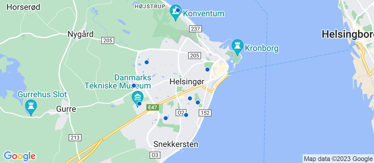 tagdækningsvirksomheder i Helsingør
