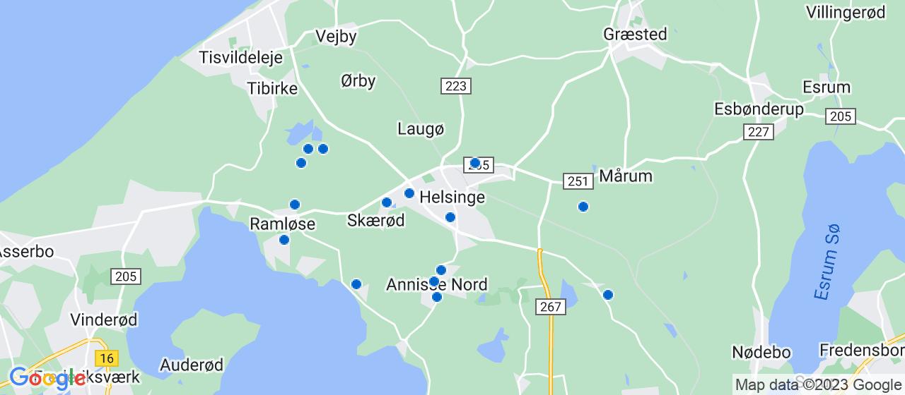 byggefirmaer i Helsinge