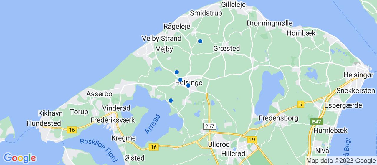 brolægger firmaer i Helsinge