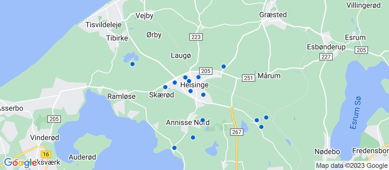 murerfirmaer i Helsinge