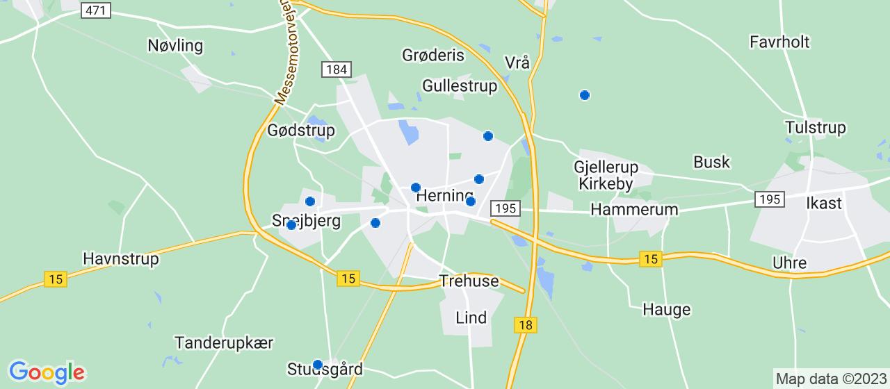 ejendomsservicefirmaer i Herning