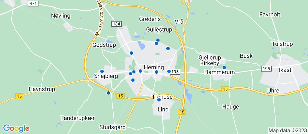 elektrikerfirmaer i Herning