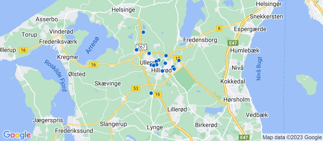 malerfirmaer i Hillerød