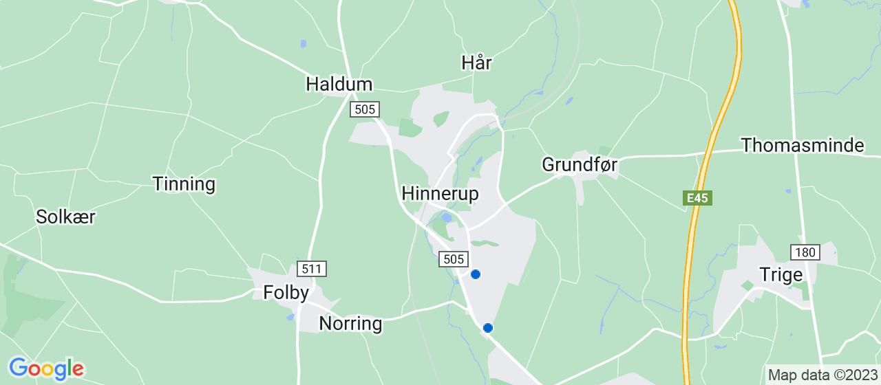 flyttefirmaer i Hinnerup