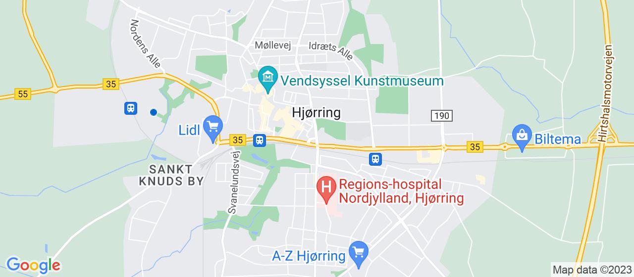 ejendomsservicefirmaer i Hjørring