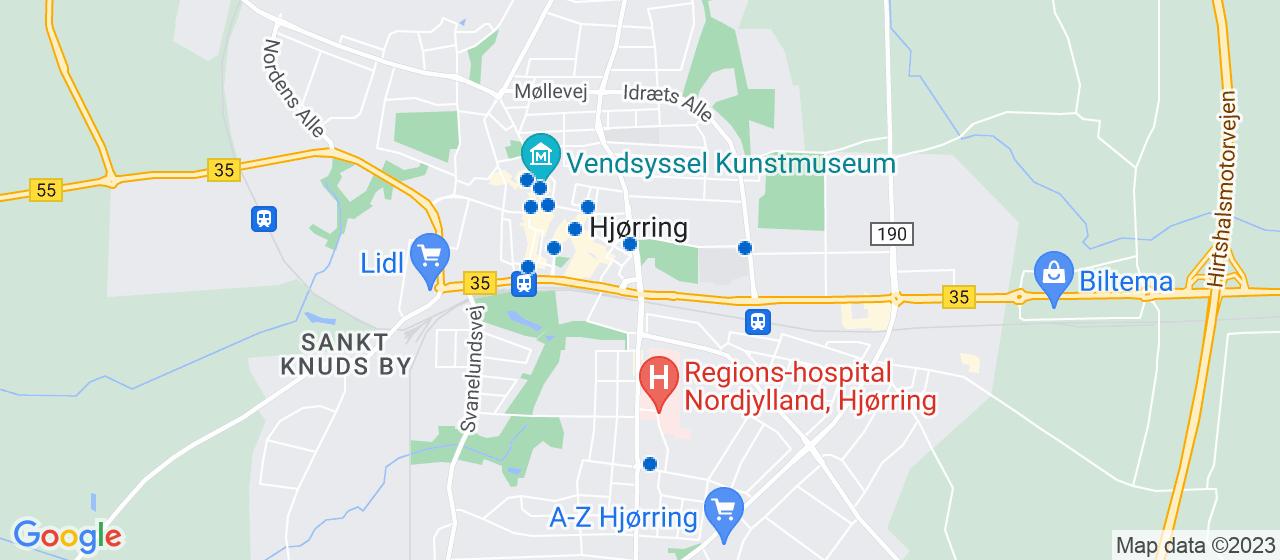 tandlæger i Hjørring