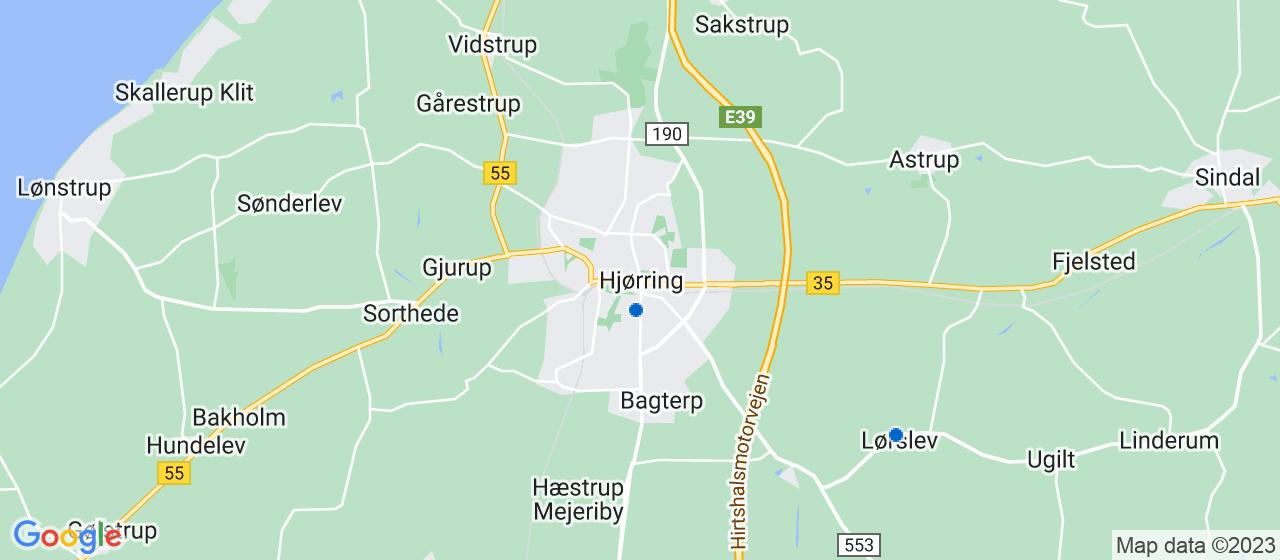vvsfirmaer i Hjørring