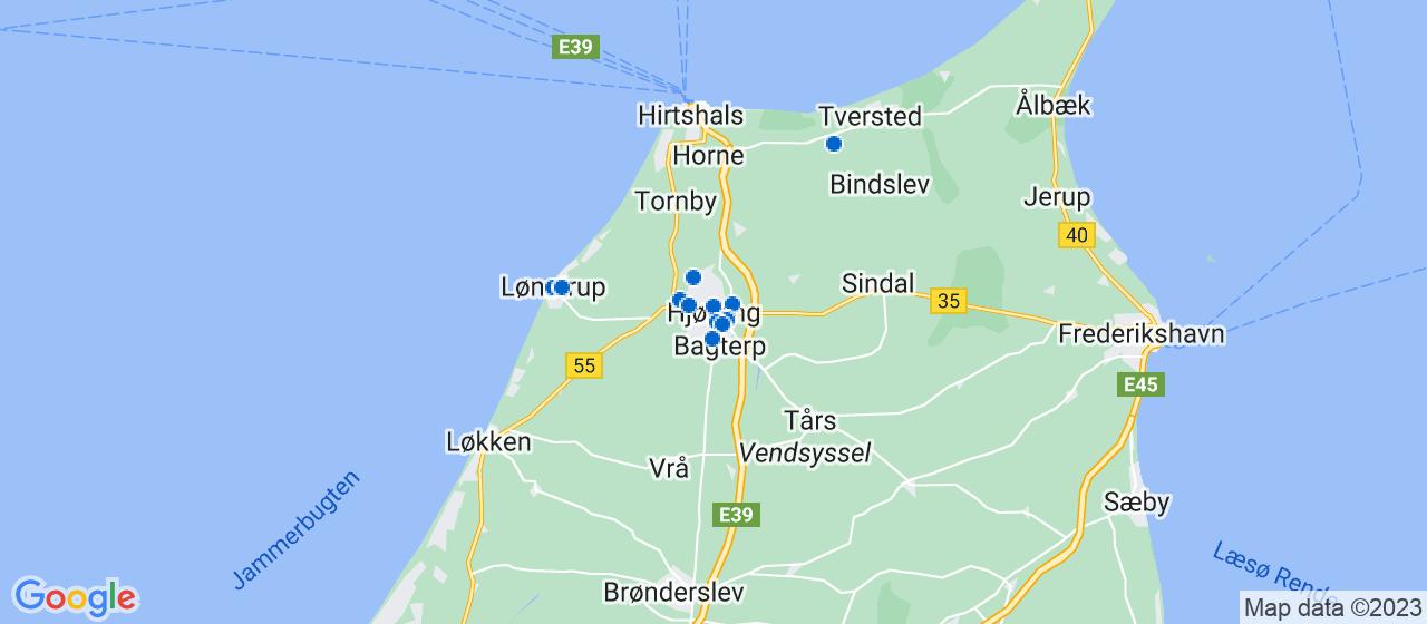 elektrikerfirmaer i Hjørring