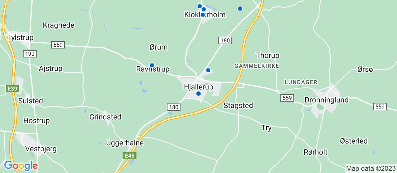 varmepumpe firmaer i Hjallerup