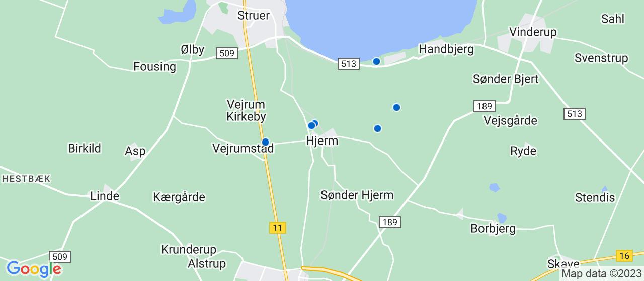byggefirmaer i Hjerm