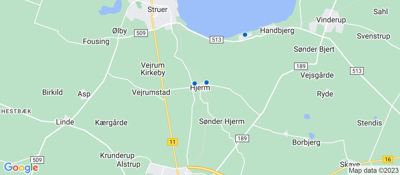 mekaniker firmaer i Hjerm