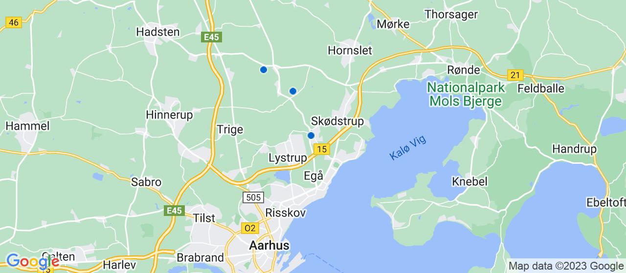 elektrikerfirmaer i Hjortshøj