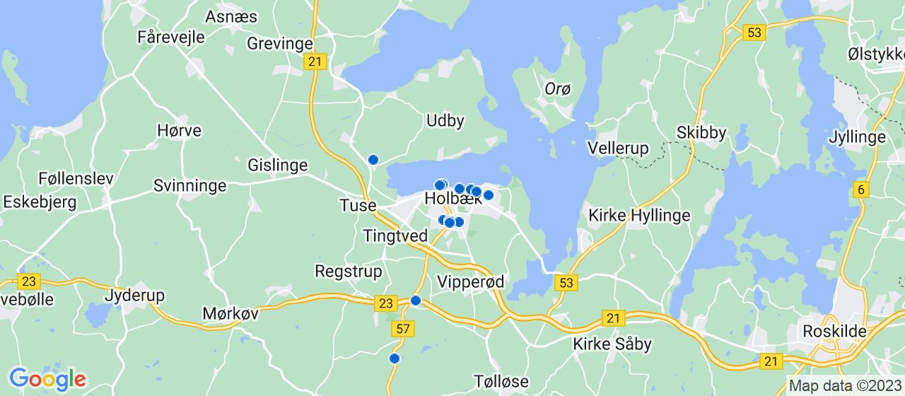 elektrikerfirmaer i Holbæk