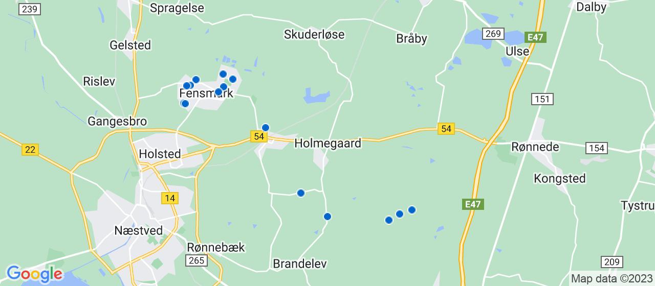 byggefirmaer i Holmegaard