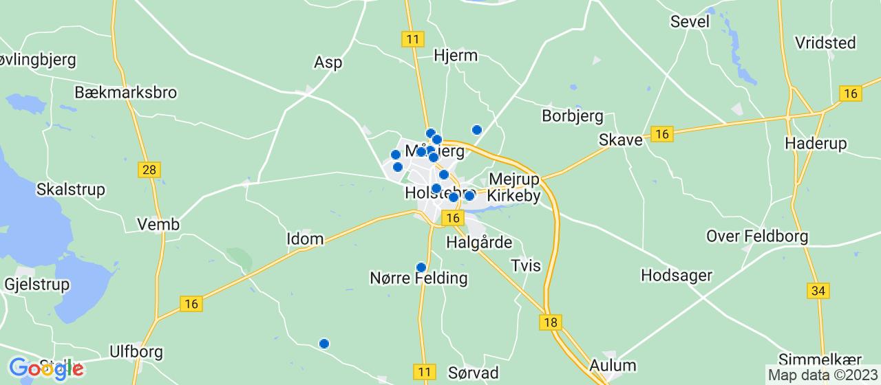 rengøringsfirmaer i Holstebro