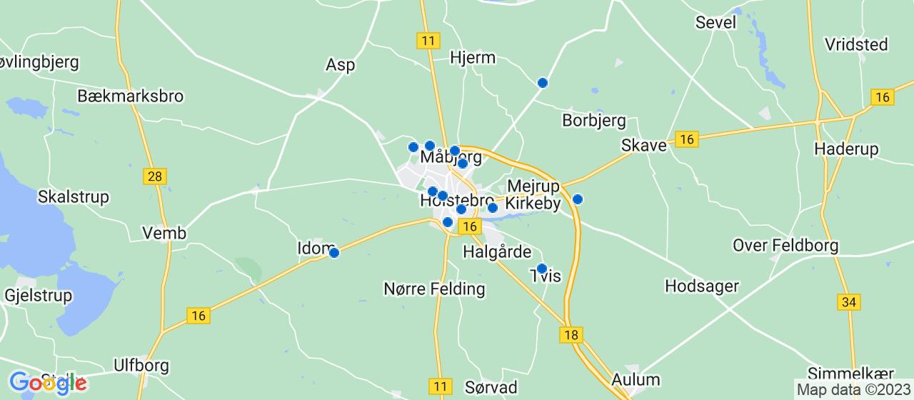 sandblæsning firmaer i Holstebro