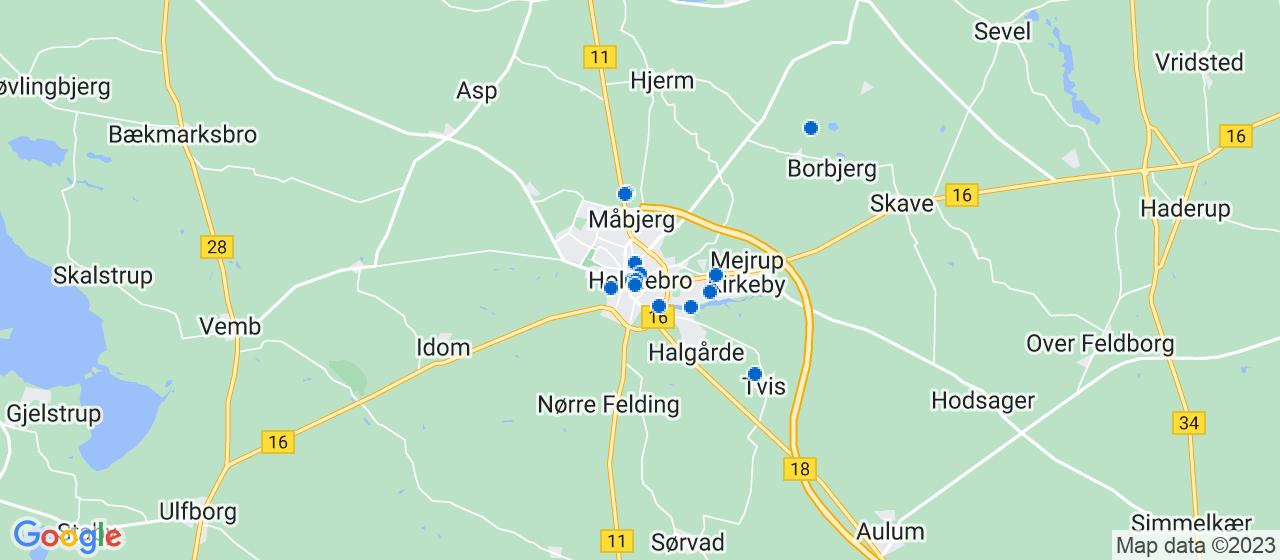 arkitektfirmaer i Holstebro