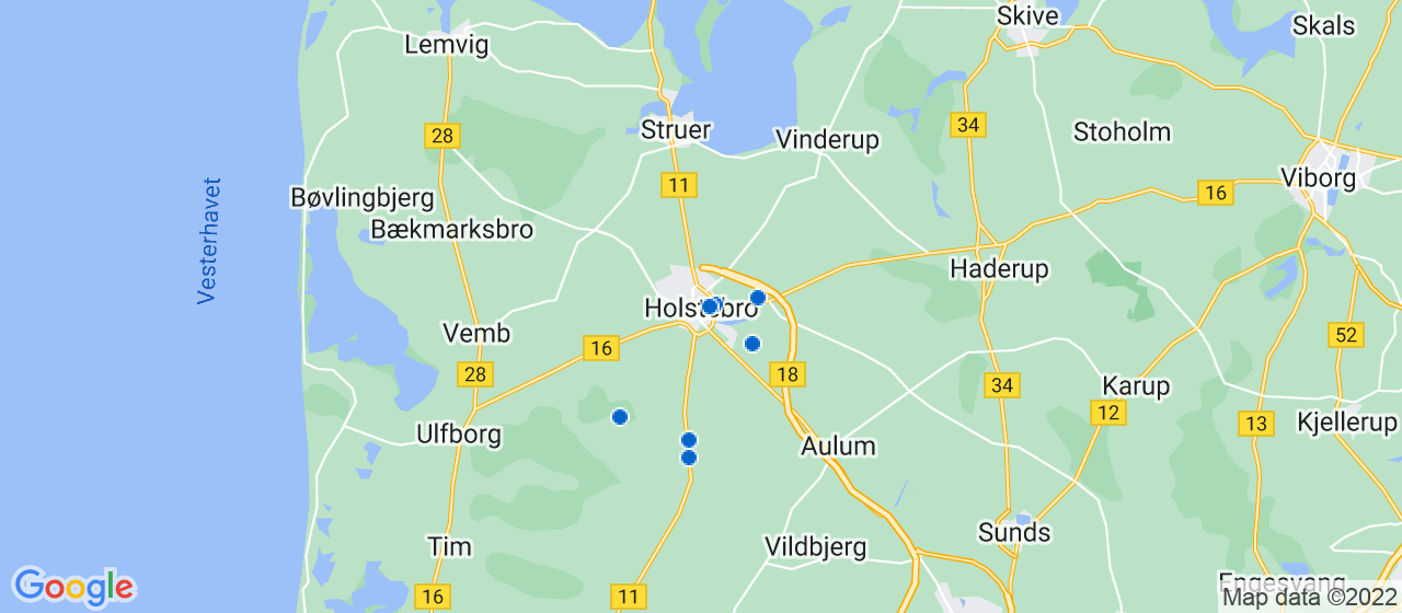 tagdækningsvirksomheder i Holstebro