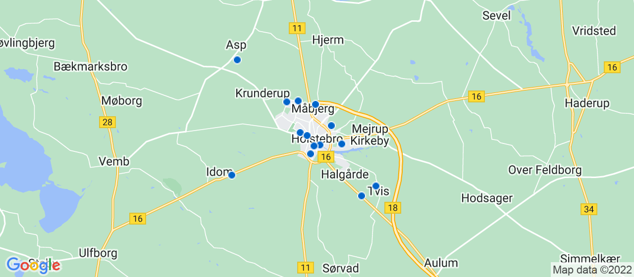 murerfirmaer i Holstebro