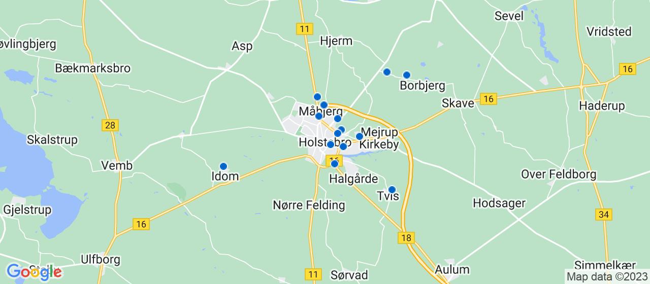 elektrikerfirmaer i Holstebro