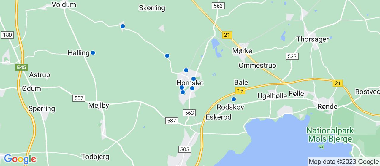 håndværkerfirmaer i Hornslet