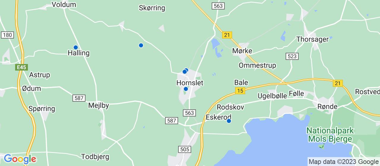 arkitektfirmaer i Hornslet
