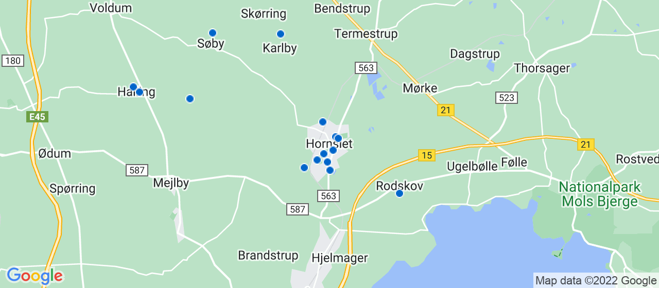 tømrerfirmaer i Hornslet